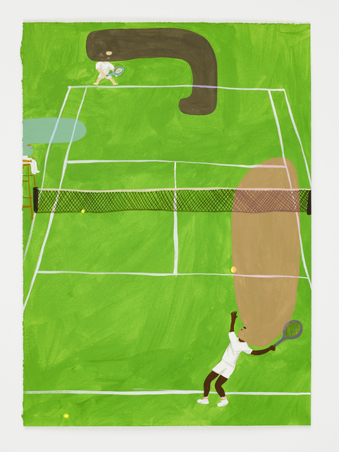 , 'Tennis,' 2016, Dio Horia