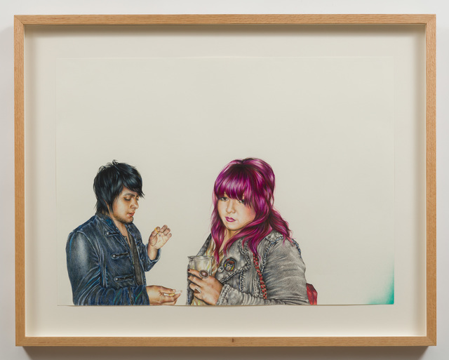 , 'Grace and Ozzie,' 2014, Charlie James Gallery