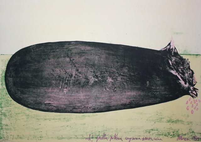 , 'Ah! Quella povera anguria americana,' 1971, Studio Mariani Gallery