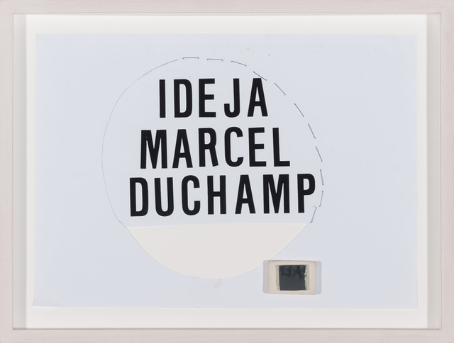 , 'Idea M. Duchamp 1.,' 2013, Aanant & Zoo