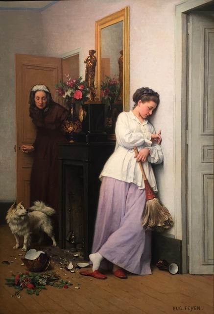 , 'Un Incedent Domestique,' 1850-1870, Anderson Galleries