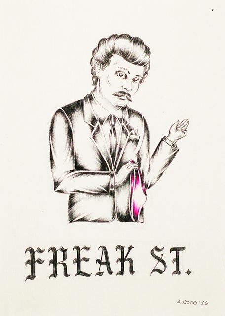 , 'Freak Street,' 2016, V1 Gallery