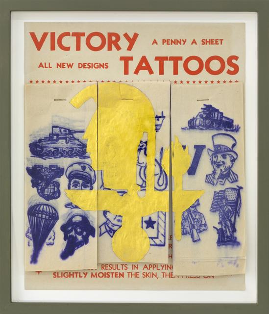 , 'Victory Tattoos I ,' 2017, Galerie Crone