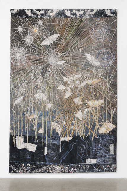 , 'Spinners (Moths & spiders webs),' 2014, Timothy Taylor