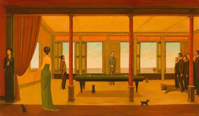 Philip Campbell Curtis, 'Billiard Game', 1971, Larsen Gallery