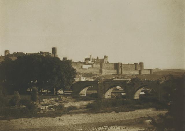 , 'Vue generale des remparts de Carcassonne, prise de l'ouest, Carcassonne (Aude),' 1851, Lee Gallery