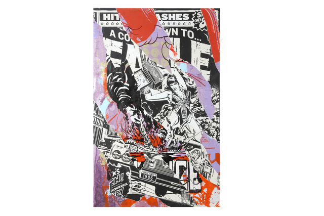 Faile (Collective), 'Countdown to Faile Archive', Print, Unique print with thick acrylic finishes, Chiswick Auctions
