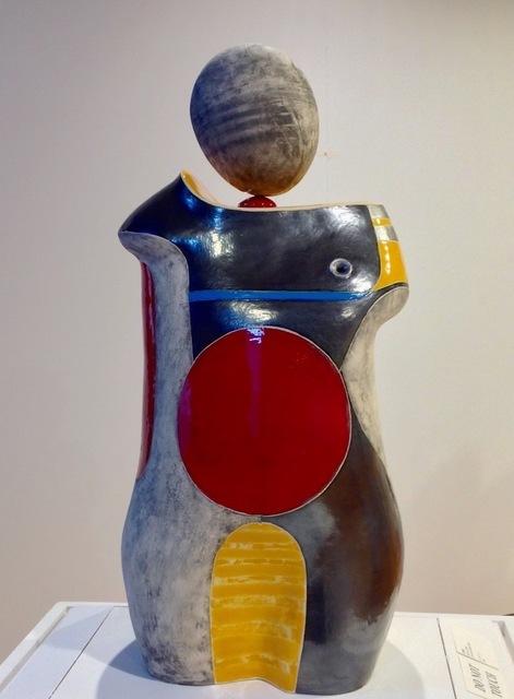 "Mary-Ann Prack, '""Cheeks""', 2019, The Haen Gallery"