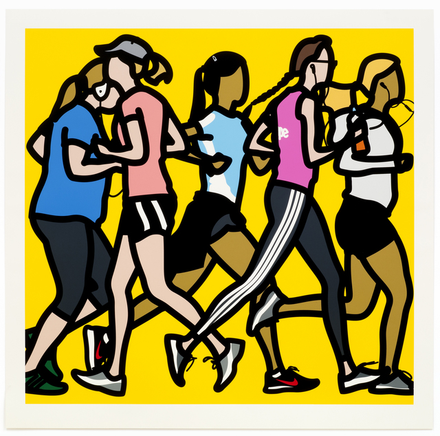 , 'Running women.,' 2016, Alan Cristea Gallery