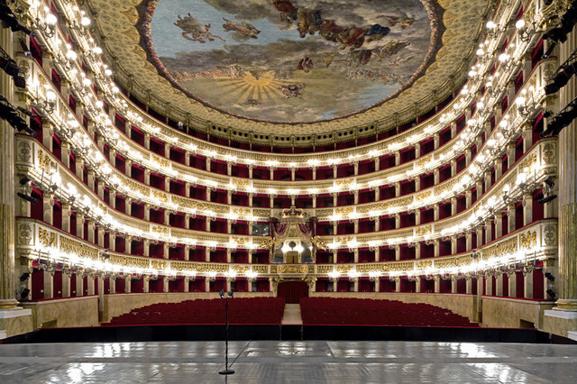 , 'Monologue – Teatro di San Carlo, Napoli,' 2015, Zuecca Project Space