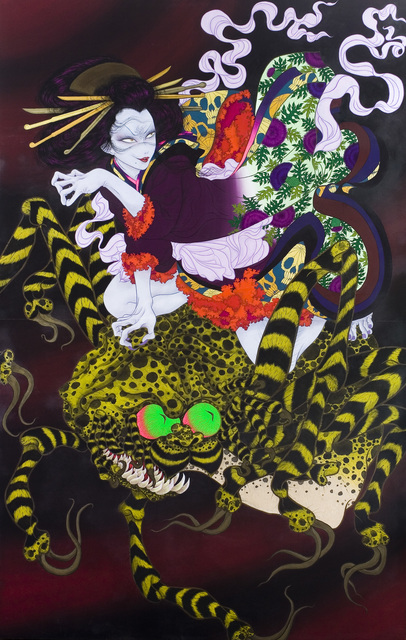 , 'The goblin spider,' 2006, Gallery Tsubaki