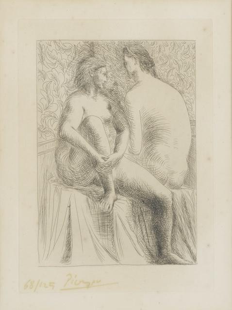 Pablo Picasso, 'Deux Femmes nues (B. 132; Ba. 199)', Print, Etching, Sotheby's