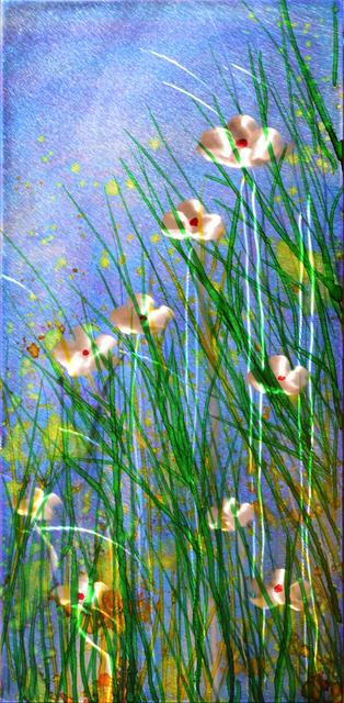 , 'Grassland Blooms I,' 2018, Mark White Fine Art