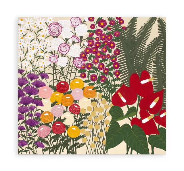 , 'Floral Times,' 2017, Hashimoto Contemporary