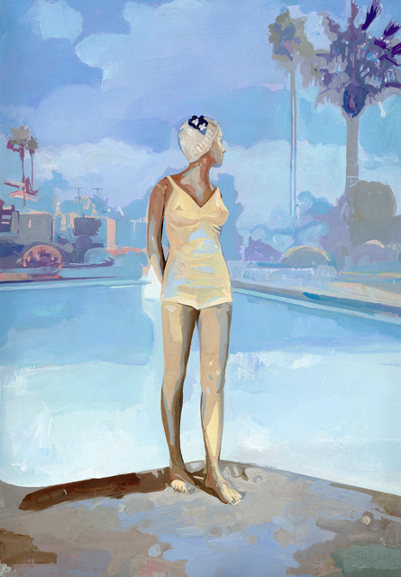 , 'Bathing Cap,' , Emillions Art