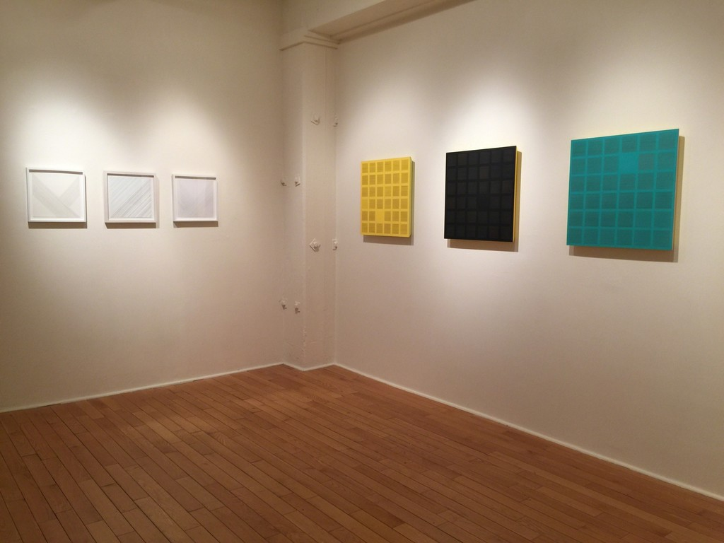 Susan Schwalb: Luminous Trace @ Garvey|Simon Art Access (installation shot)
