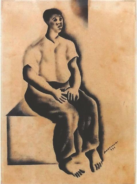 , 'Homem Sentado (Seated Man),' 1933, Ricardo Camargo