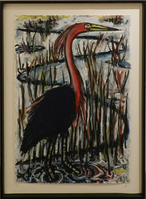 , 'Reddish Egret,' 2014, William Campbell Contemporary Art, Inc.