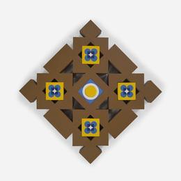 George Earl Ortman, 'Untitled,' c. 1965, Wright: Art + Design (February 2017)