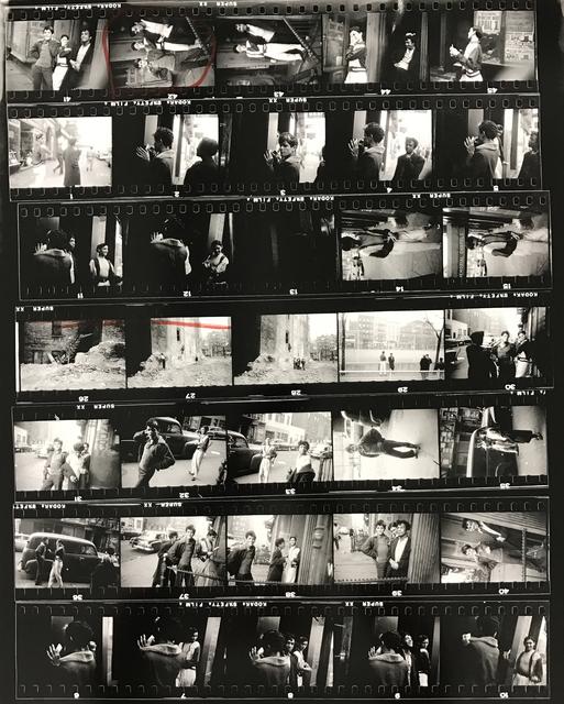 , 'Contact Sheet #12,' 2009, Danziger Gallery