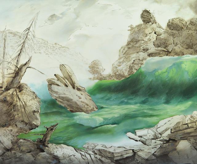Slava Seidel, 'Paysage allegorique', 2018, Joerg Heitsch Gallery