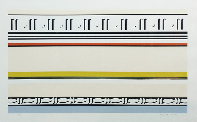 Roy Lichtenstein, 'ENTABLATURE VIII', 1976, Gallery Art