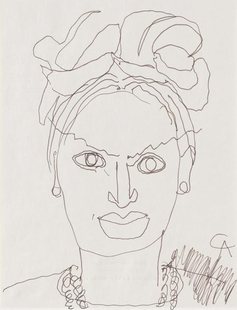 Alexander Calder, 'Portrait de femme', 1968, BAILLY GALLERY