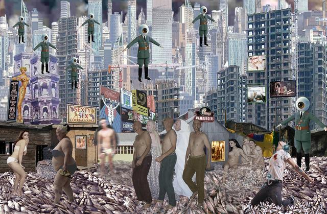 , 'Magnumopolis,' 2016, Joshua Tree Art Gallery