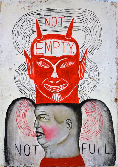 , 'Empty/Full,' 2017, George Billis Gallery