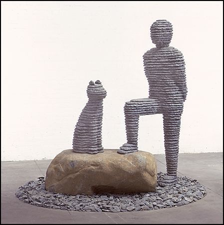 , 'Yo'ah with Dog (#70),' 2001, SPONDER GALLERY