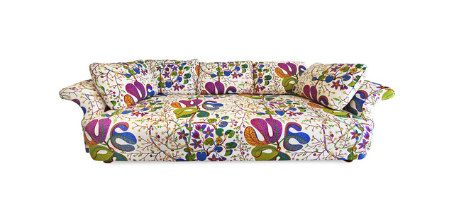 , 'Sofa Liljevalchs, fabric covering Teheran,' 1934, MAK – Museum of Applied Arts, Vienna