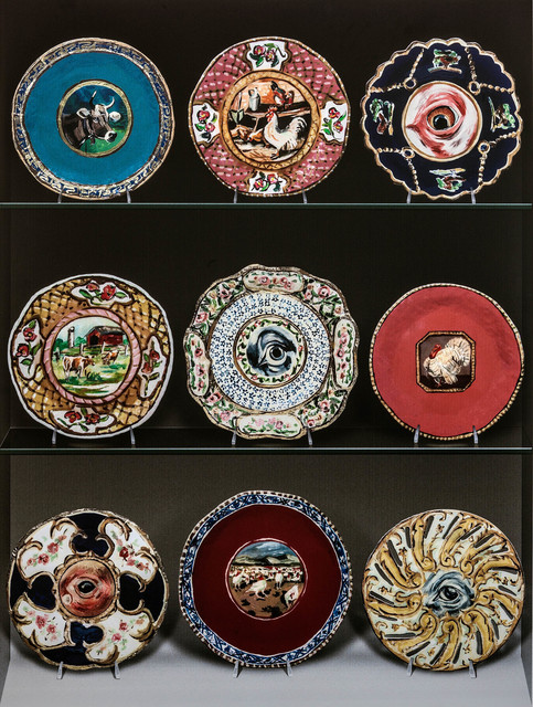 , 'Auction Lots (Fine Americana: Plates),' 2013, Rosamund Felsen Gallery