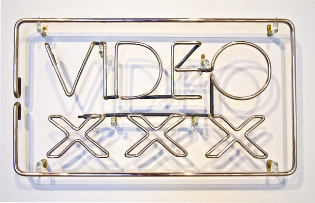 , 'XXX VIDEO,' 2014, Greg Kucera Gallery