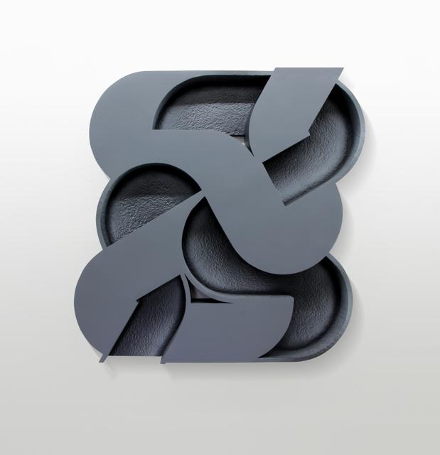 Amir Nikravan, 'Mechanism (Cool Grey)', 2019, Sculpture, Acrylic on canvas over plaster and wood, Vigo Gallery