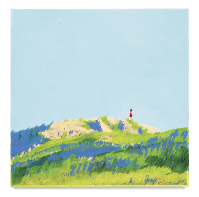 , 'Purple Marram Grass,' 2017, Miles McEnery Gallery