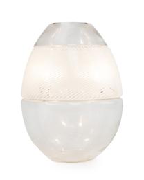 An Italian glass free-form table lamp