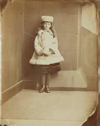 """Lewis Carroll, 'Xie (Alexandra) Kitchin as a """"Dane"""",' ca. 1876, Phillips: The Odyssey of Collecting"""