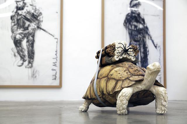 Adel Abdessemed, 'Turtle', 2015, Christine König Galerie