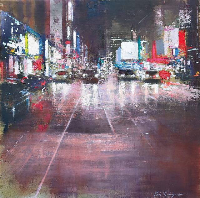 , 'Lights on 8th Avenue,' 2018, Adam Gallery
