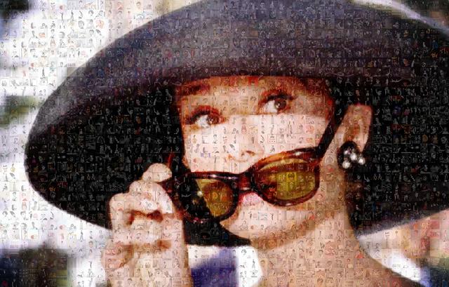 , 'Incognito. Audrey Hepburn,' 2016, BOCCARA ART