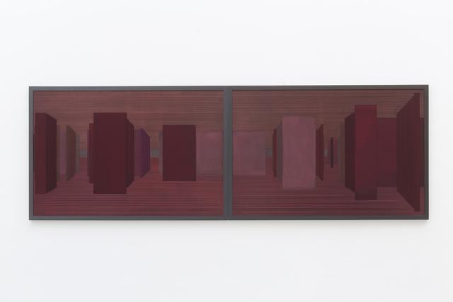 , 'Labirinto Rizomático - V C series - red,' 2018, Zipper Galeria