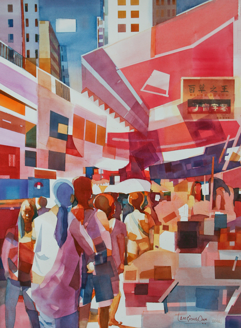 , '#8 Cityscape - A Day At The Market,' 2014, Affinity ART