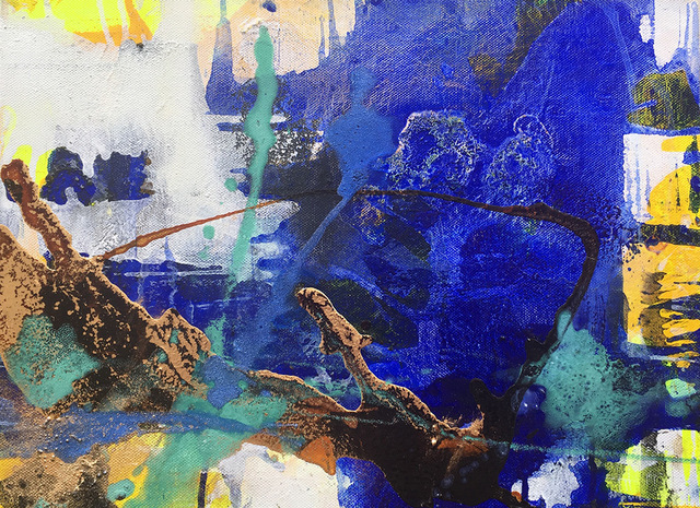 , 'Misty Cliff I,' 2018, Hicks Gallery
