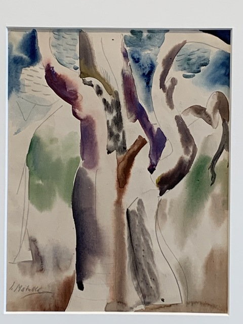 Jan Matulka, 'Untitled', ca. 1928, Drawing, Collage or other Work on Paper, Watercolor on paper, Anders Wahlstedt Fine Art