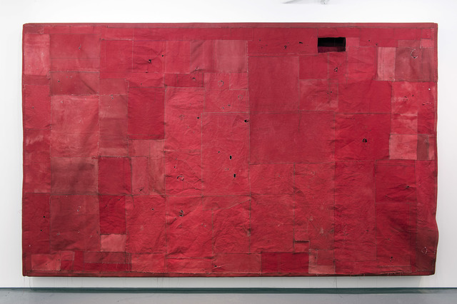 , 'Flat Painting Bodfari 14/15 Cadmium Red Deep,' 2015, FOLD Gallery