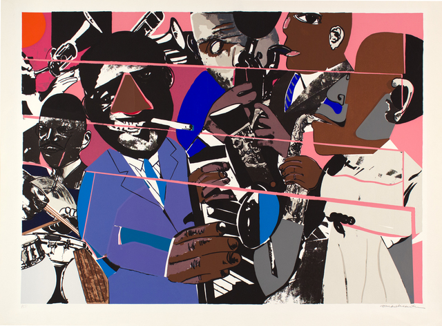 , 'Jazz II, Artist Proof,' 1979, Alan Avery Art Company