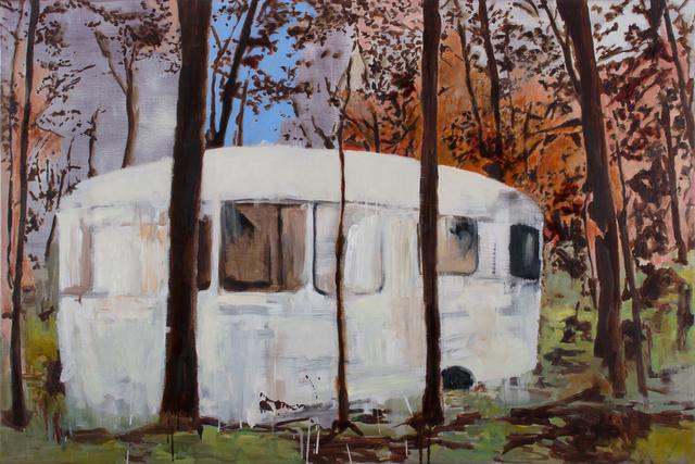 , 'Caravan,' 2018, Parafin