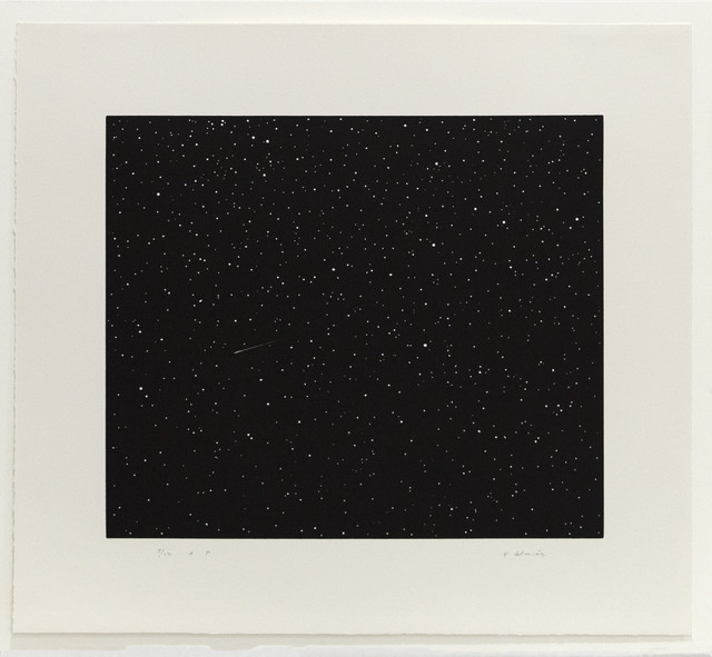Vija Celmins, 'Comet', 1992, Mary Ryan Gallery, Inc