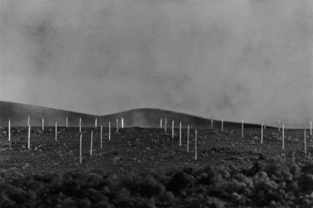 Vik Muniz, 'Earthworks Brooklyn: Brooklyn, NY (Lightning Field, after Walter Maria)', 1999/2013, Print, Digital C-print, Nara Roesler