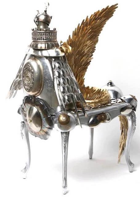 , 'Armored Centaurs, Pegasus Dreaming,' 2017, GALLERY SHCHUKIN